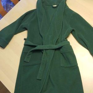 Kids fleece robe LLBEAN 8